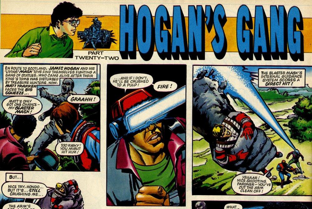 Hogan's Gang: Kim Raymond? (artist)