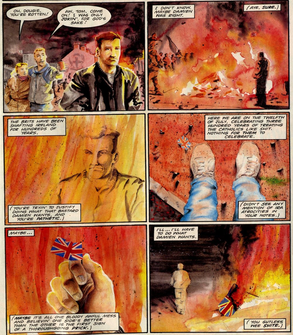 Troubled Souls: Garth Ennis (writer), John McCrea (artist)