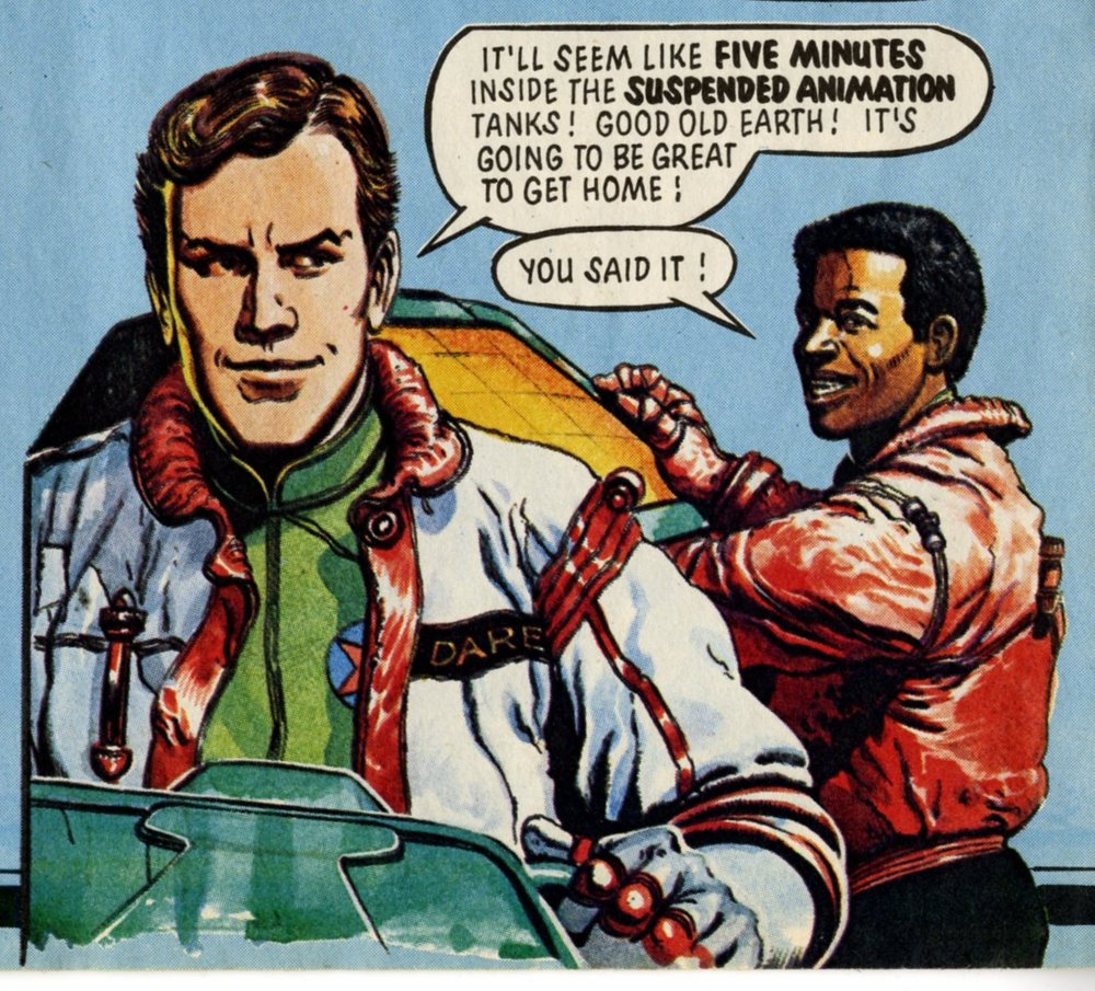 Dan Dare, Eagle 10 April 1982: Gerry Embleton (artist)