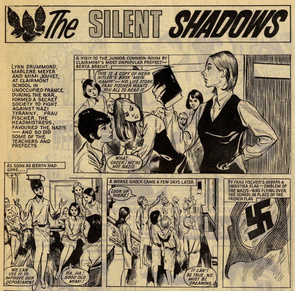 The Silent Shadows: creators unknown