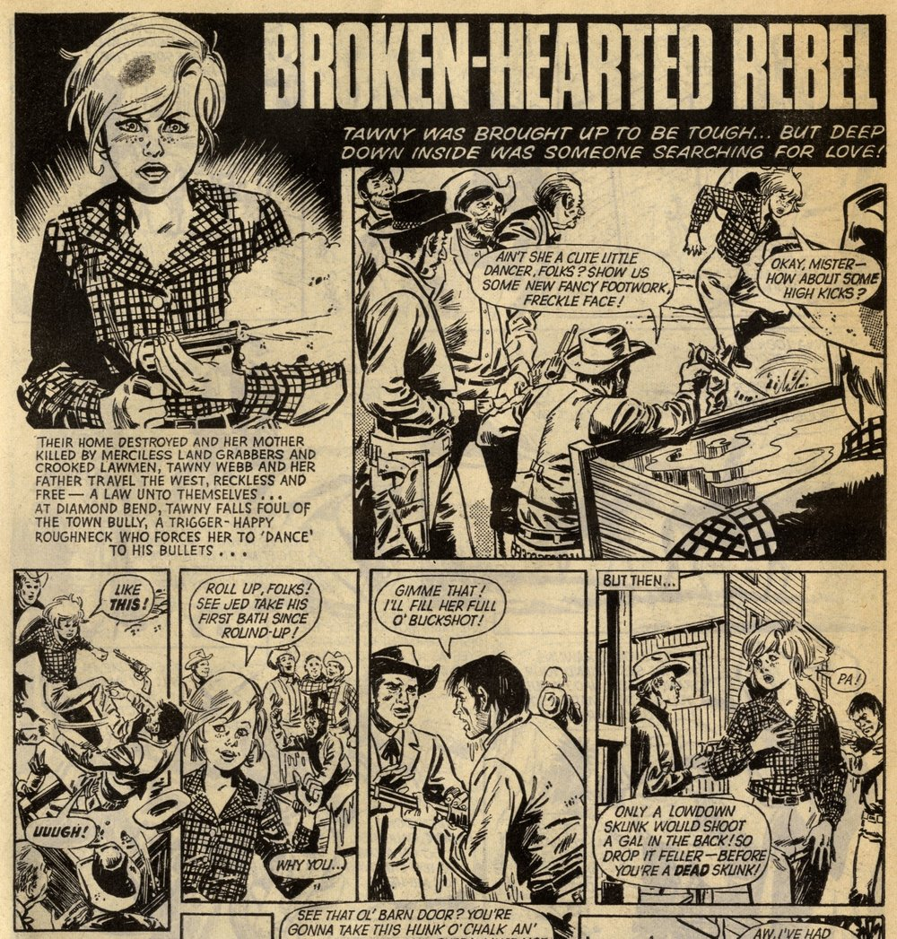 Broken-hearted Rebel: Philip Douglas (writer), Rodrigo Comos (artist)