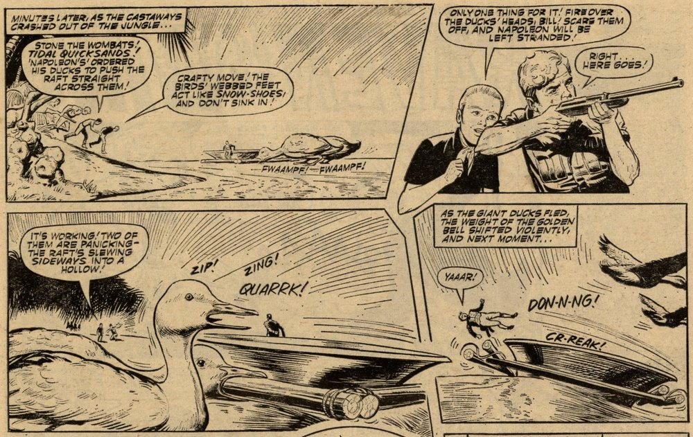 The Tuffs of Terror Island: Tony Coleman (artist)