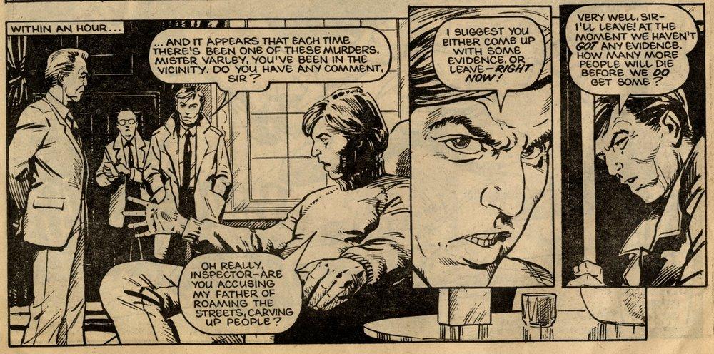 Library of Death: Beware the Werewolf: Simon Furman (writer), Steve Dillon (artist)
