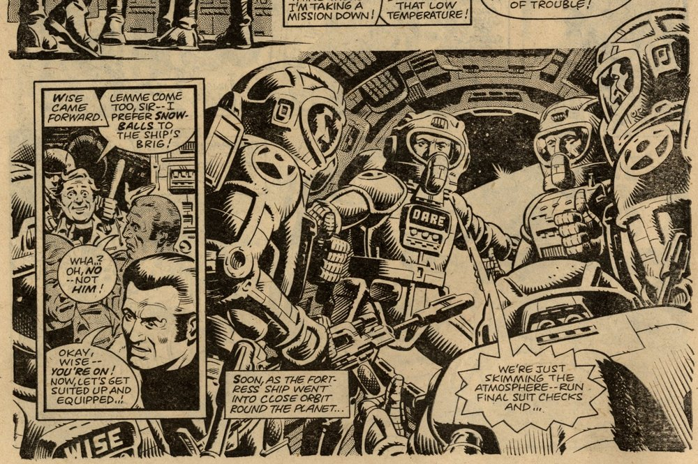 Dan Dare: Gerry Finley-Day (writer), Dave Gibbons (artist)