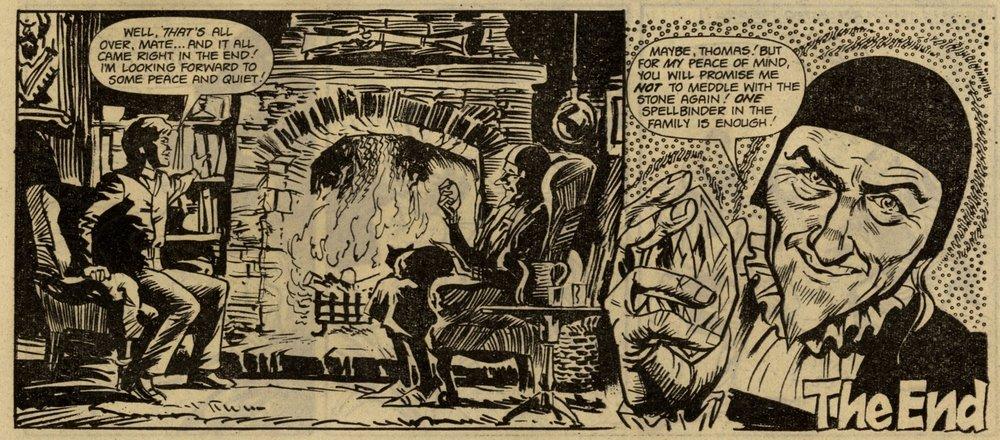 Spellbinder: Frank S. Pepper (writer), Geoff Campion (artist)