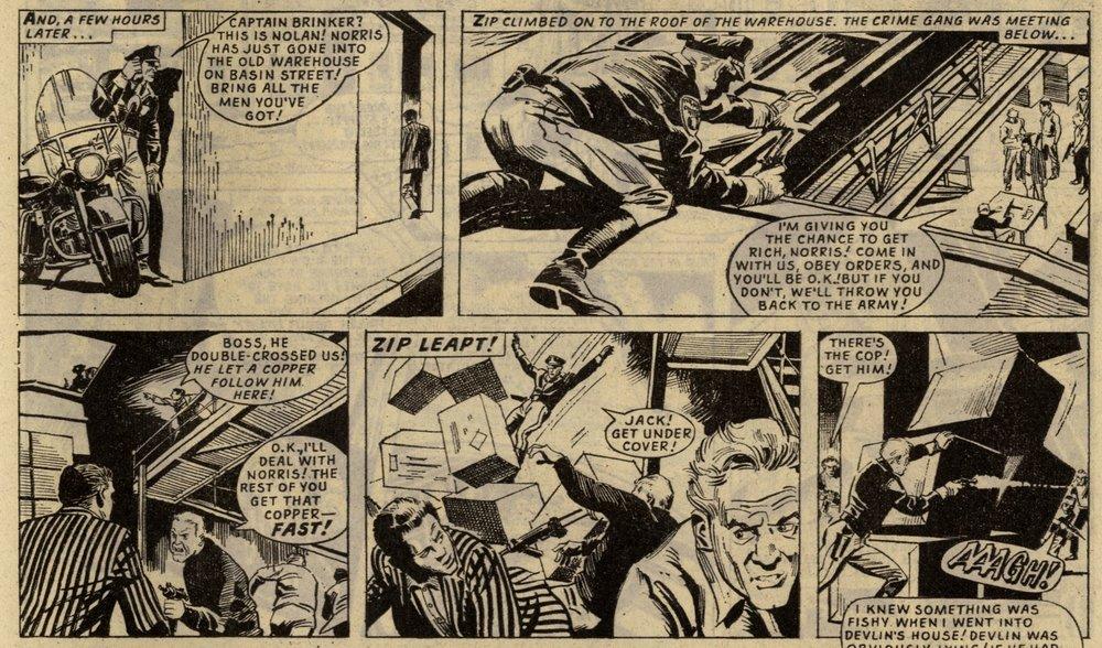 Zip Nolan: Frank S. Pepper (writer), Roberto Diso? (artist)