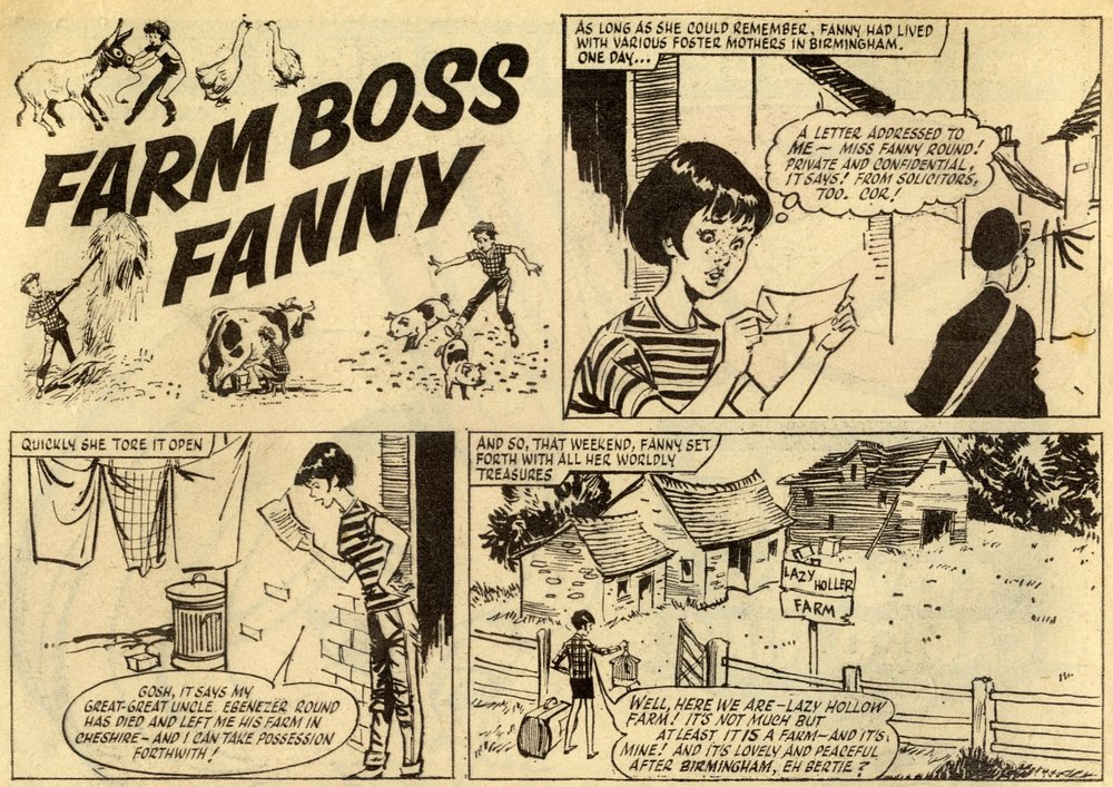 Farm Boss Fanny: creators unknown