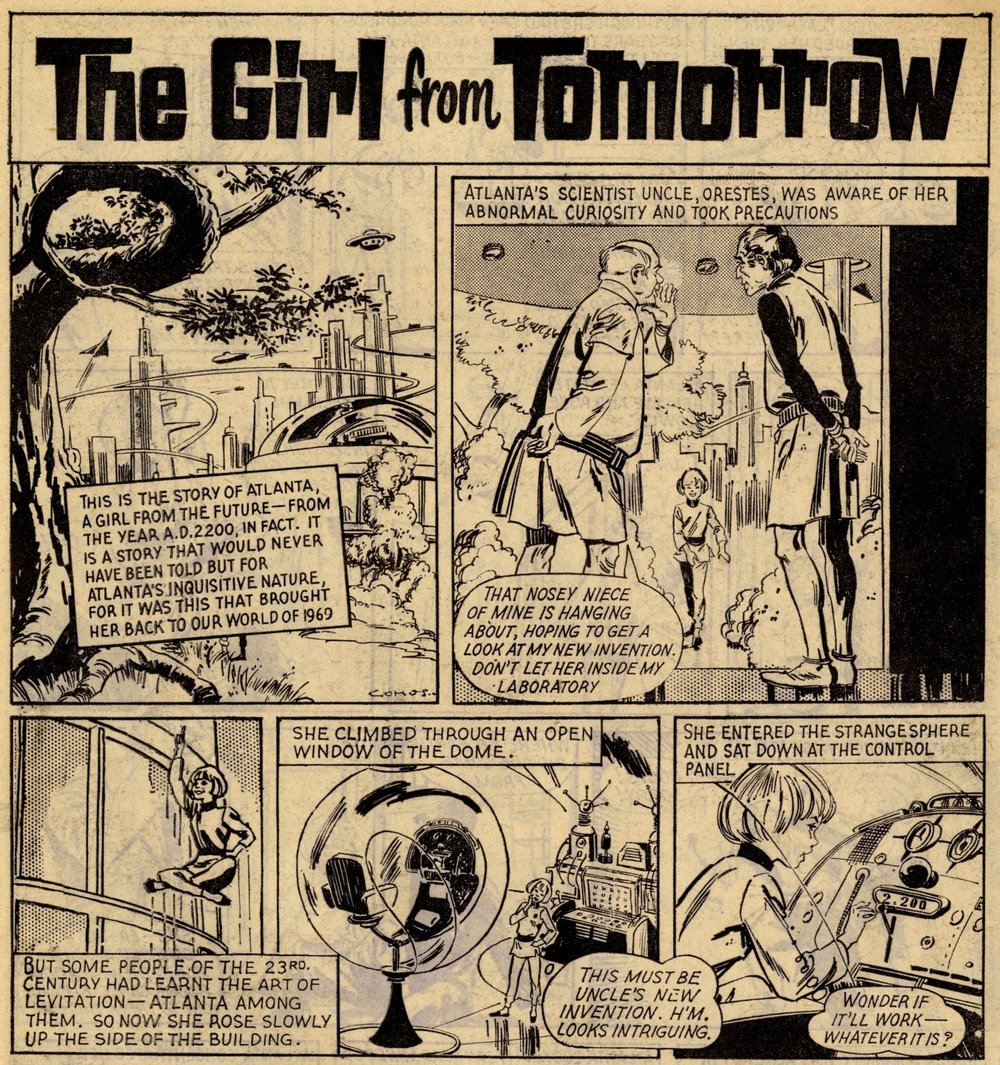 The Girl from Tomorrow: Rodrigo Comos (artist)