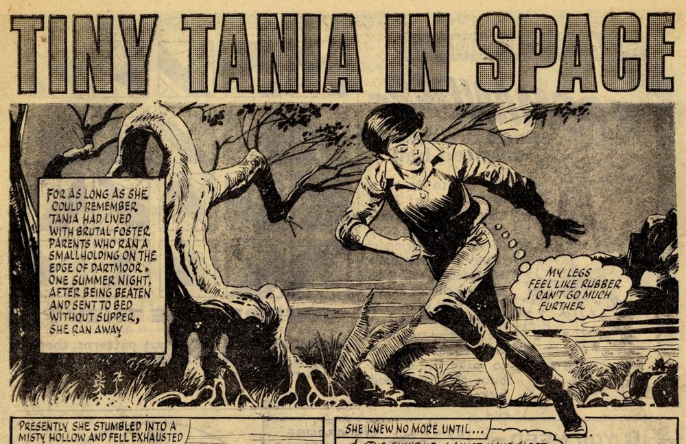 Tiny Tania in Space: Rodrigo Comos (artist)