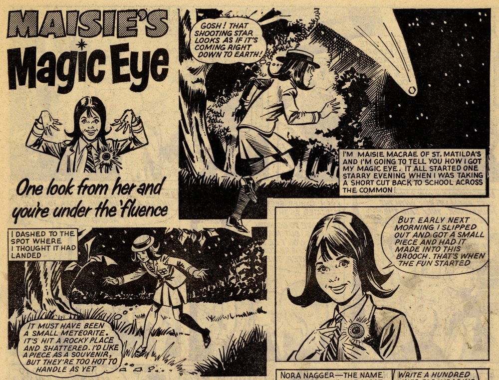Maisie's Magic Eye: creators unknown
