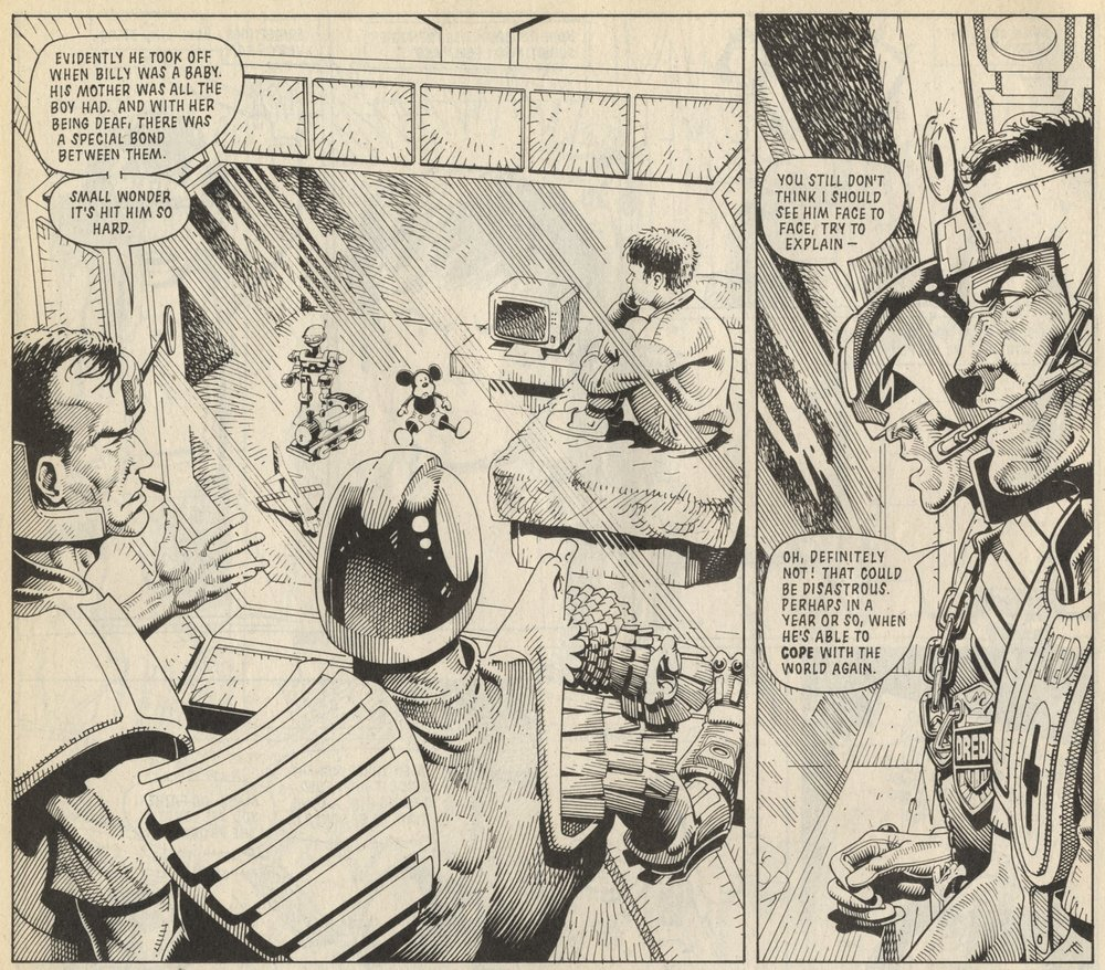 Judge Dredd: Alan Grant (writer), Cliff Robinson (artist)