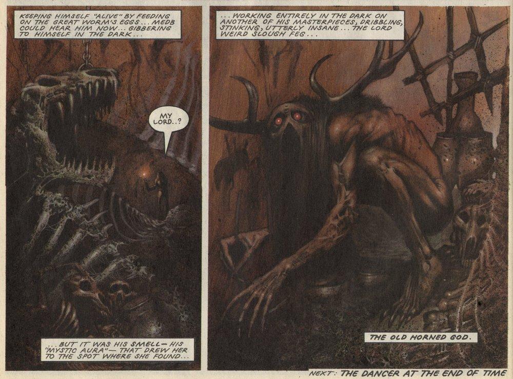 Slaine: The Horned God: Pat Mills (writer), Simon Bisley (artist)