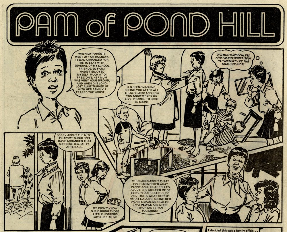 Pam of Pond Hill: Jay Over (writer), Bob Harvey (artist)