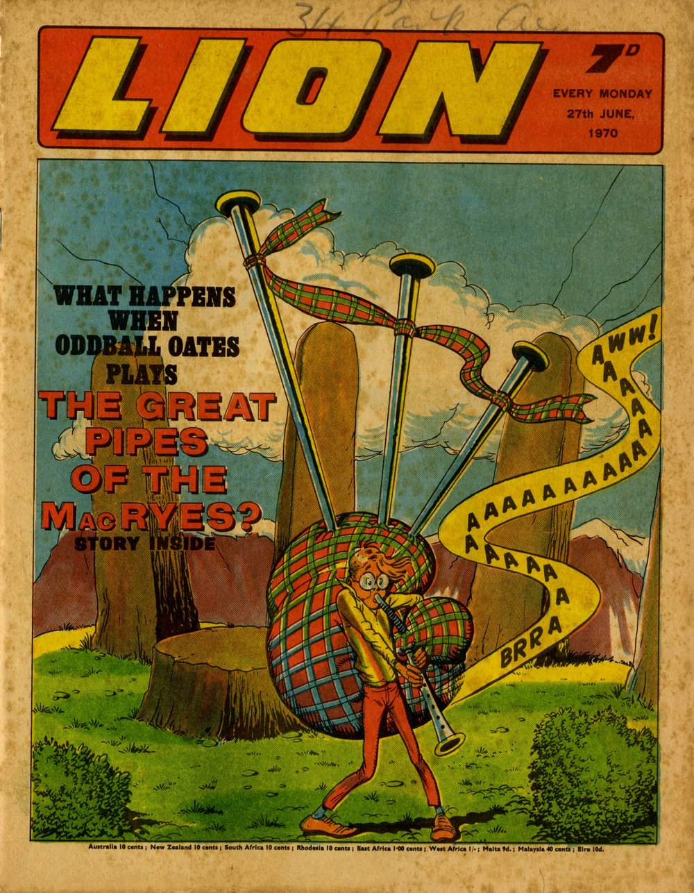Cover artwork: Tom Kerr
