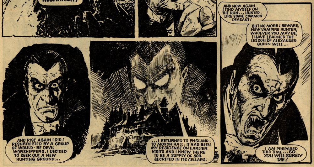 The Dracula File: Simon Furman (writer), Eric Bradbury (artist)