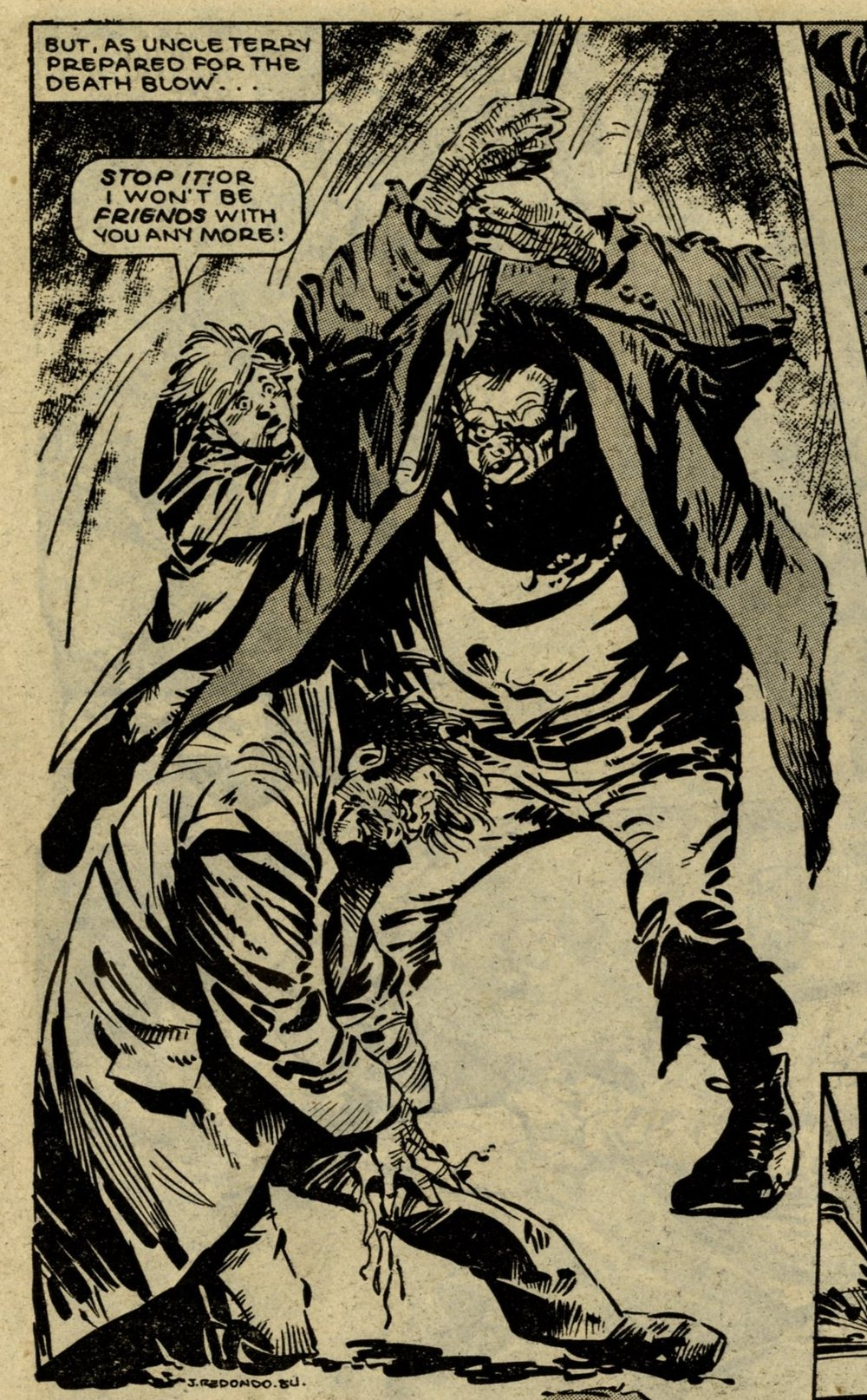 Monster: John Wagner and Alan Grant (writers), Jesus Redondo (artist)