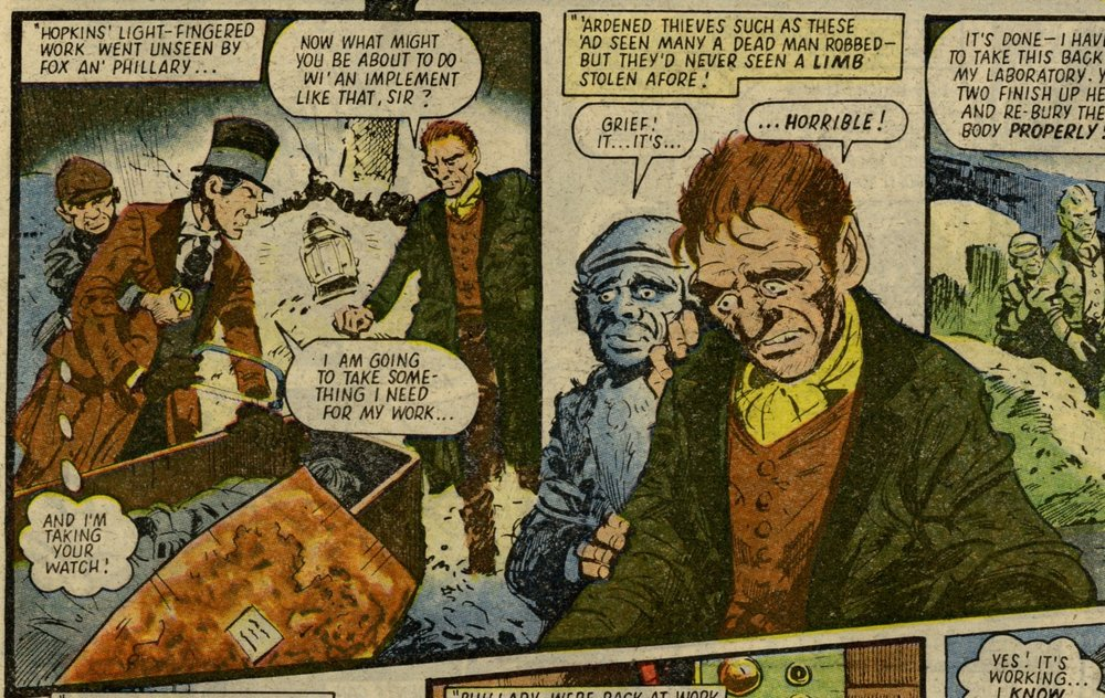 Tales from the Grave: The Man They Called Doctor Death!: R Hunter (writer), Jim Watson (artist)