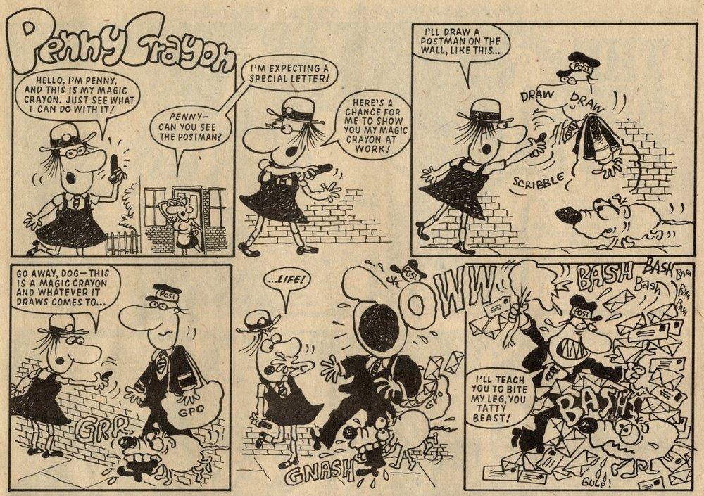 Penny Crayon: Peter Maddocks? (artist)