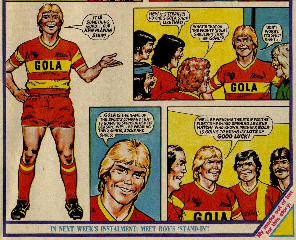 Roy of the Rovers: David Sque (artist)