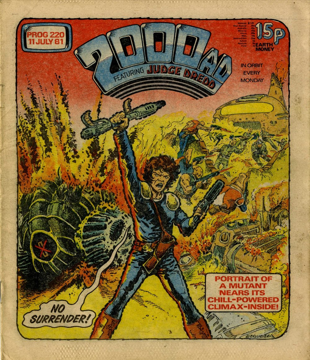 Cover artwork: Carlos Ezquerra