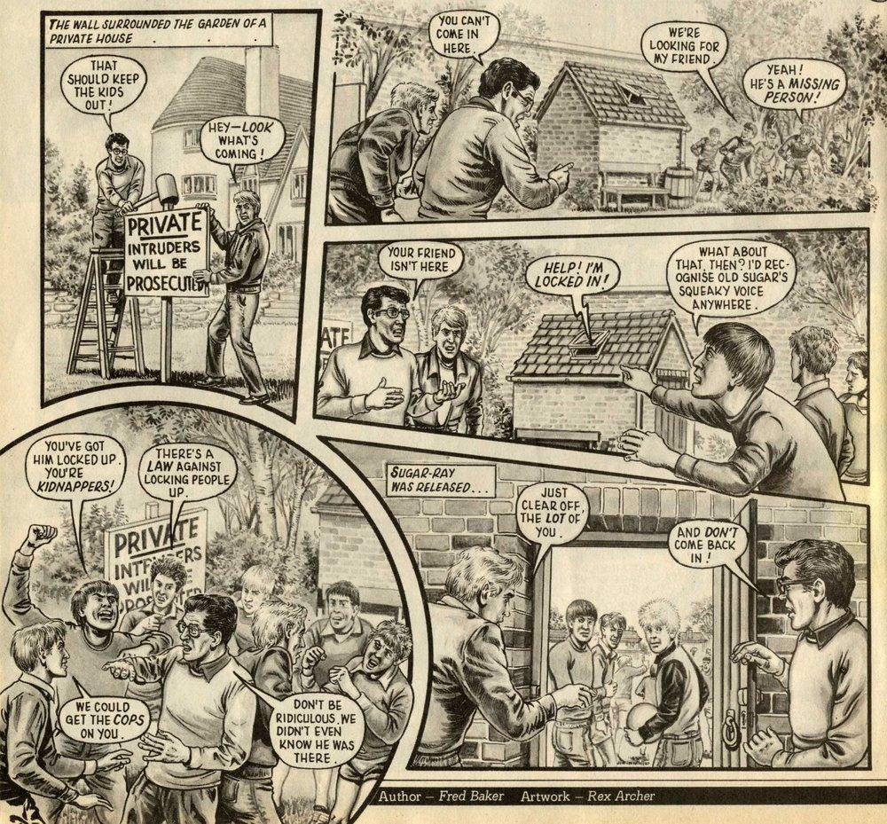 Crowe Street Comp.: Fred Baker (writer), Rex Archer (artist)