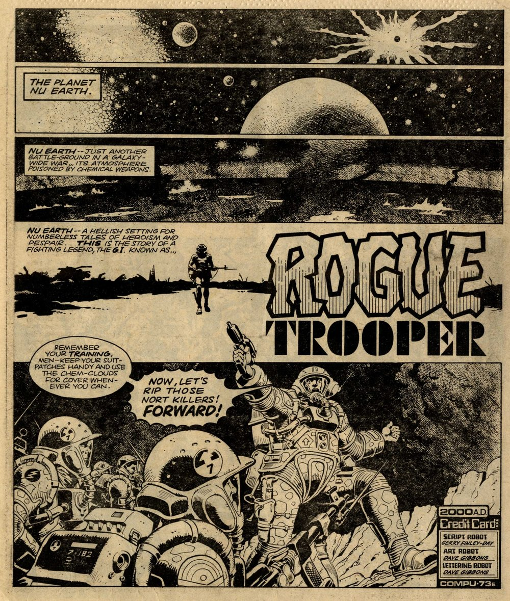 Rogue Trooper: Gerry Finley-Day (writer), Dave Gibbons (artist)