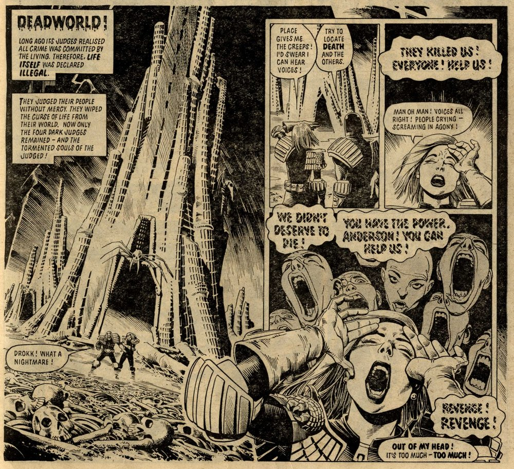 Judge Dredd: John Wagner and Alan Grant (writers), Brian Bolland (artist)
