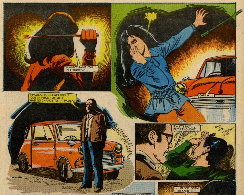 Elmo's Revenge: Ramon Escalano (artist)