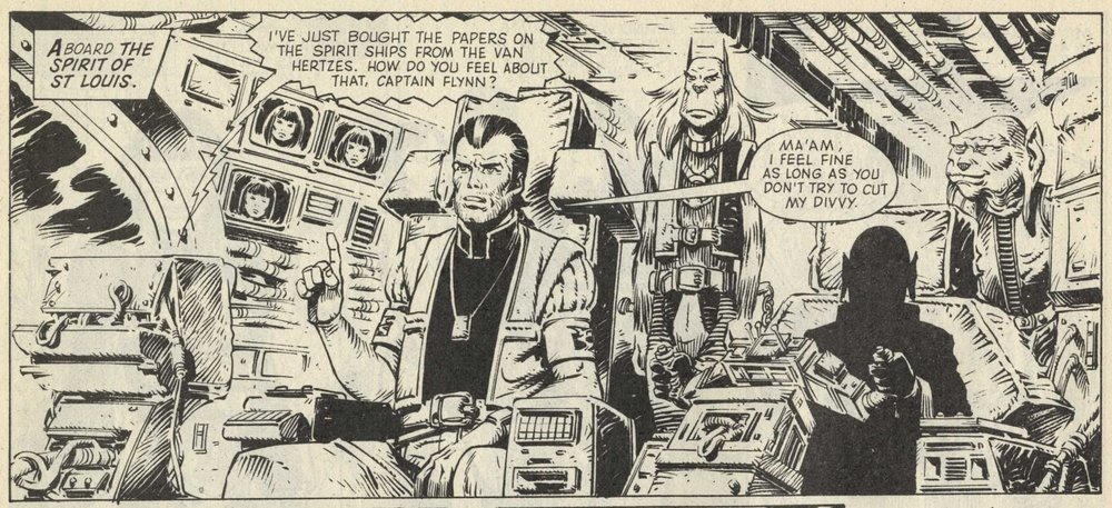 Moon Runners: Alan McKenzie and Steve Parkhouse (writers), Massimo Belardinelli (artist)