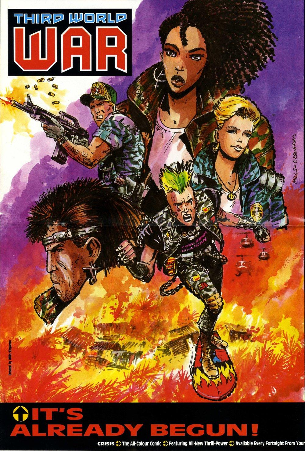 Crisis poster: Carlos Ezquerra (artist)