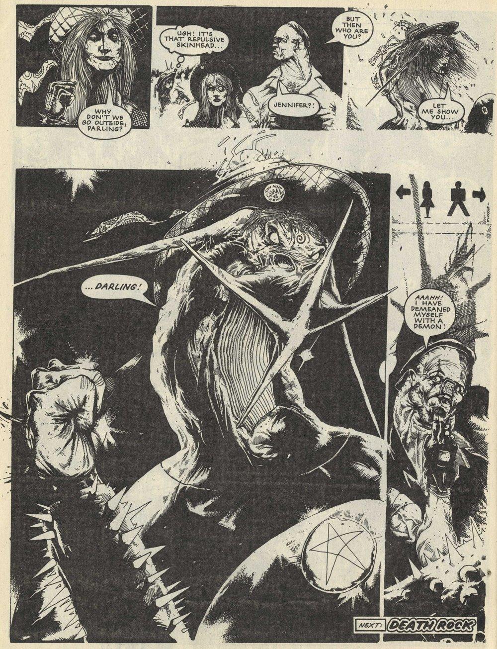 Nemesis the Warlock: Pat Mills (writer), John Hicklenton (artist)