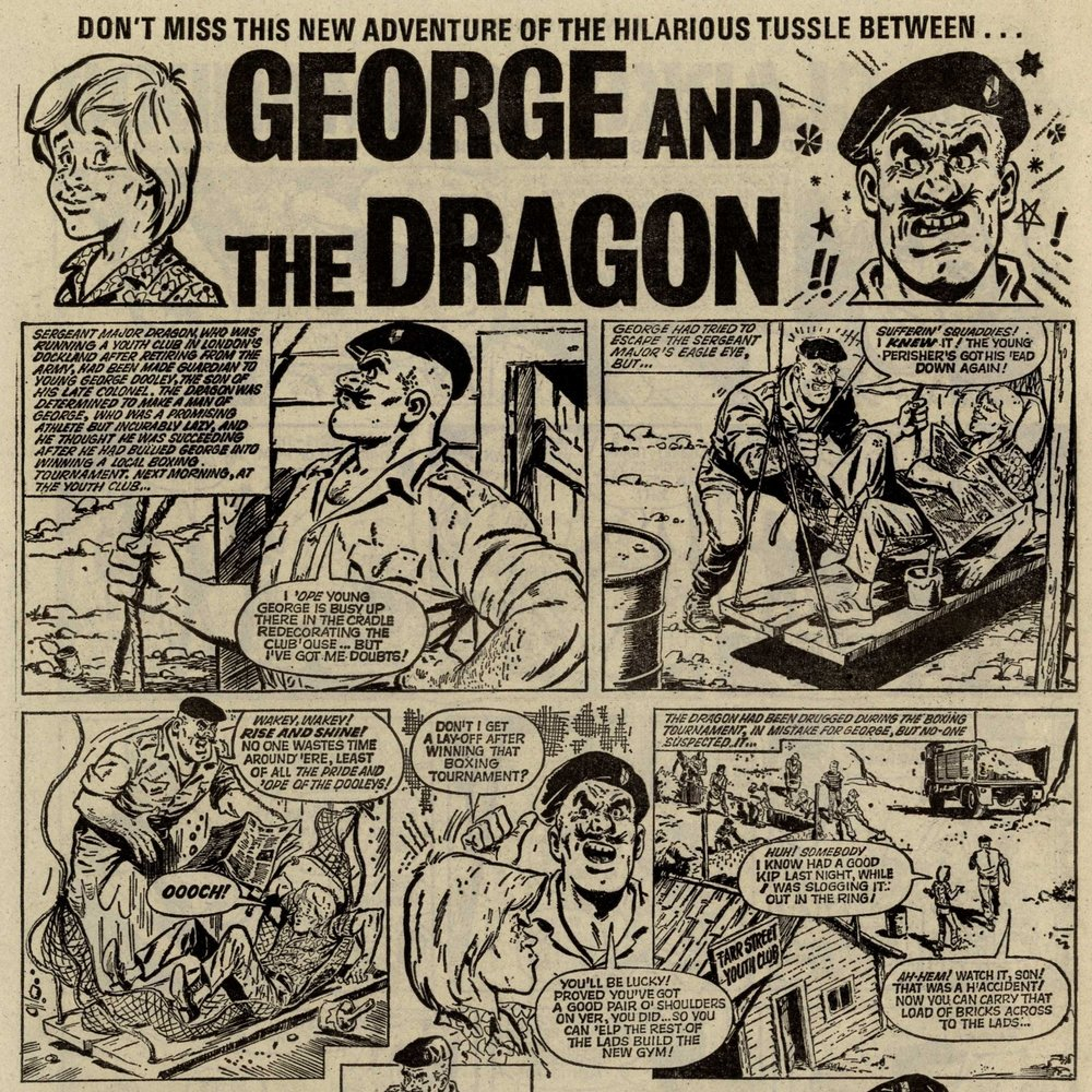 George and the Dragon: Carlos Cruz? (artist)