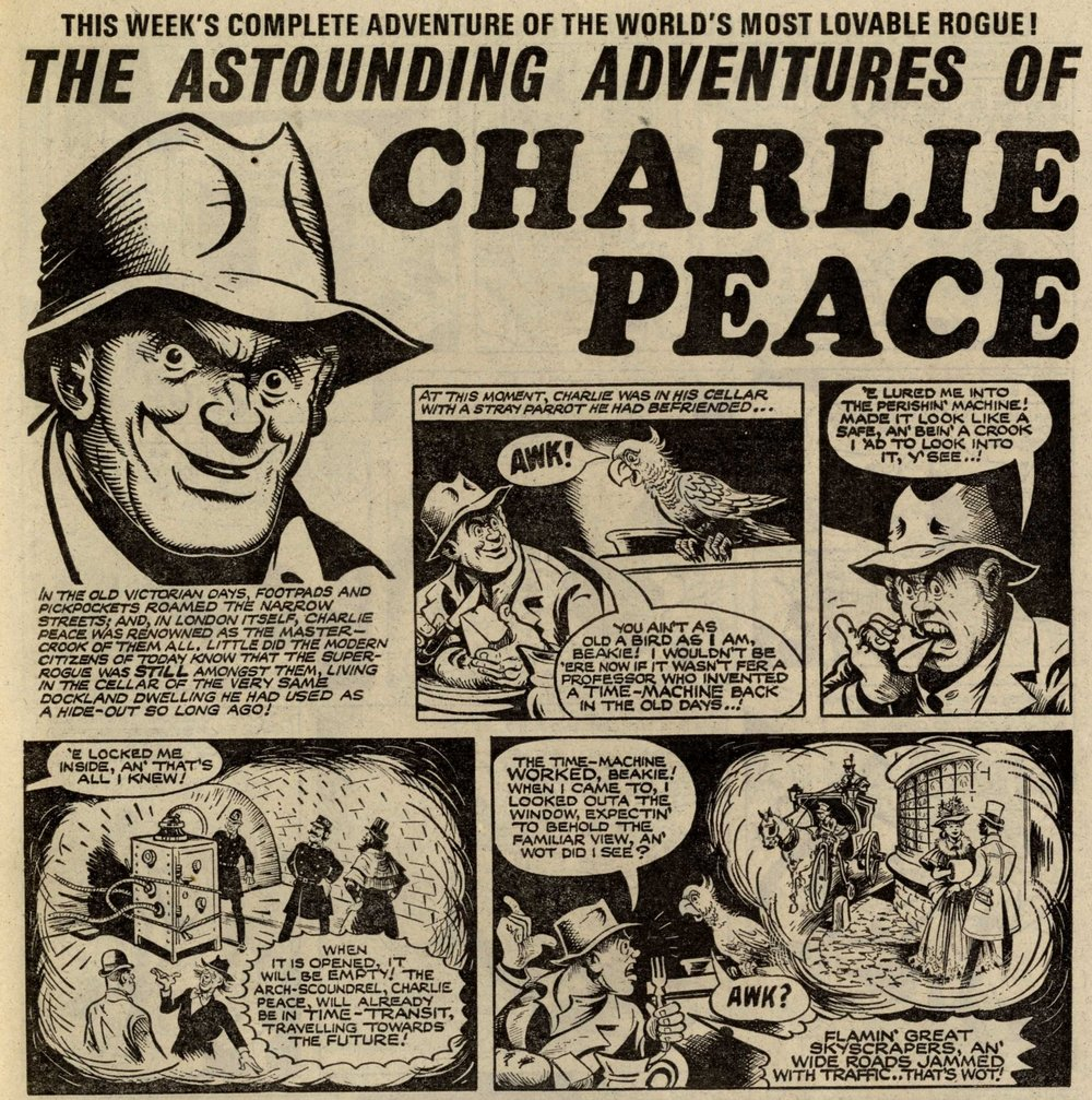 The Astounding Adventures of Charlie Peace: Jack Pamby