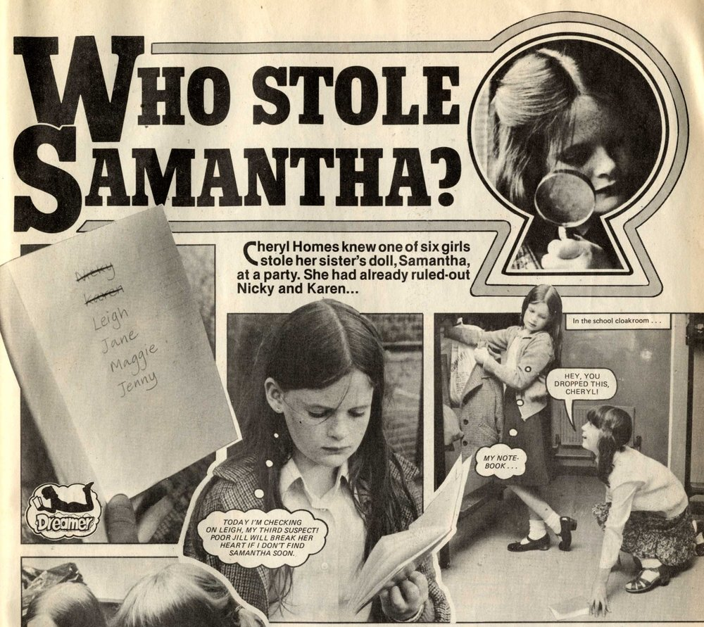 Who Stole Samantha?: Alison Christie (writer)
