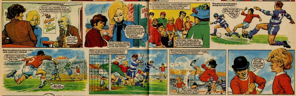 Football Family Robinson: Tom Tully (writer), John Gillatt (artist)