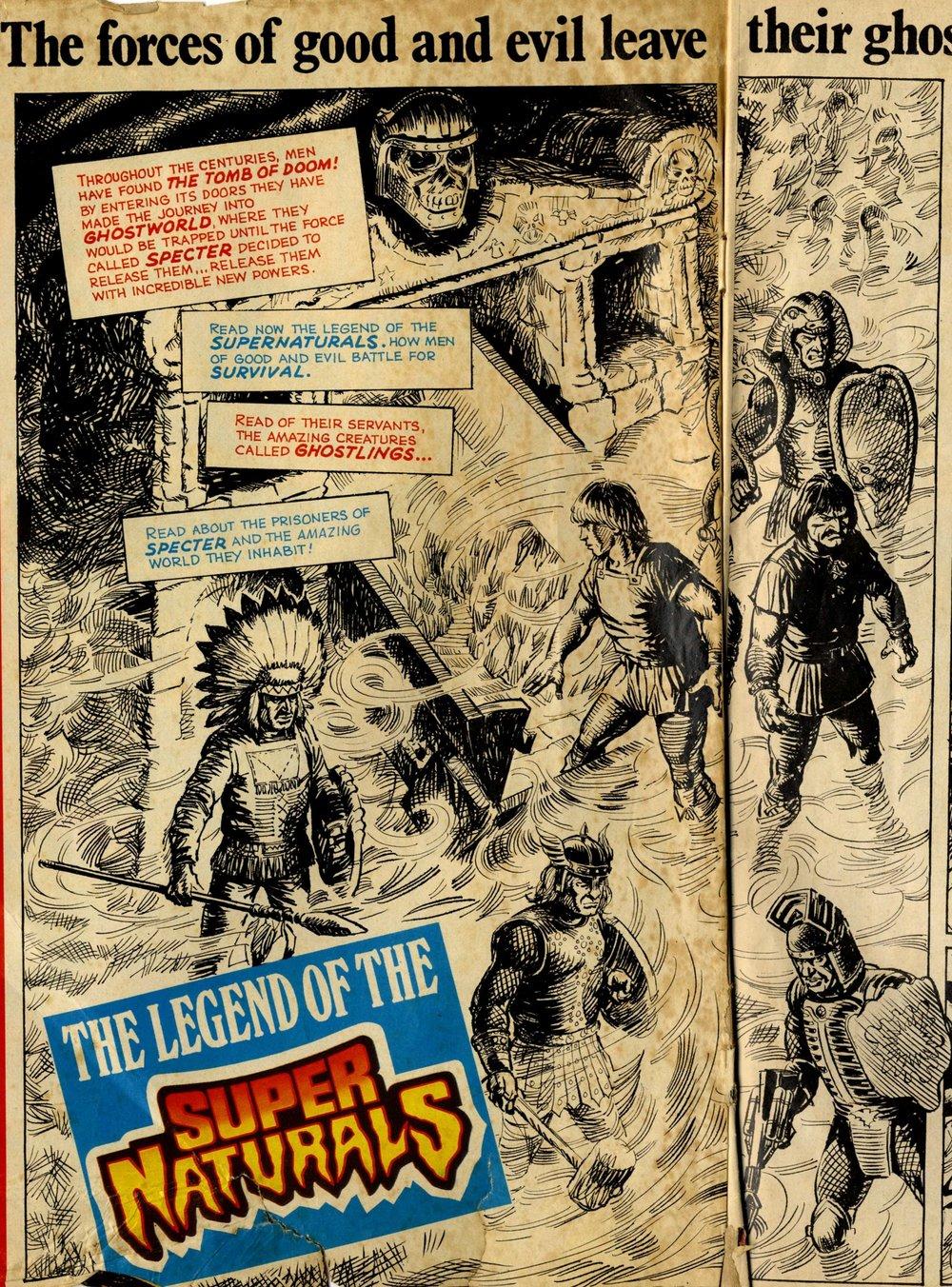 The Legend of the Super Naturals: John Gillatt (artist)