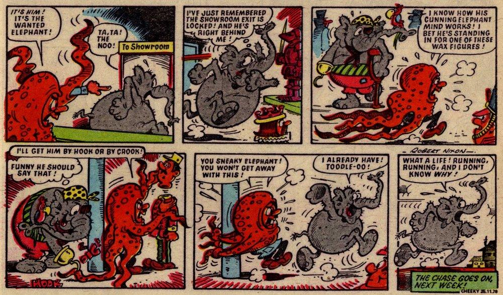 Elephant on the Run: Robert Nixon (artist)
