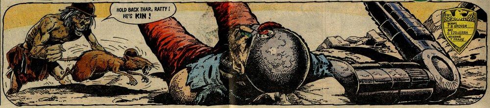 Fink Angel, drawn by Carlos Ezquerra