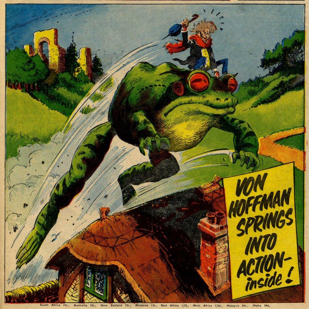 Von Hoffman, drawn by Eric Bradbury