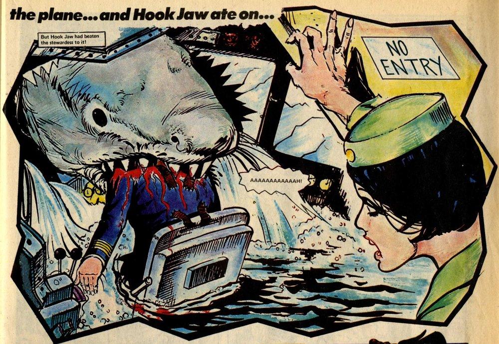 Hook Jaw, drawn by Ramon Sola