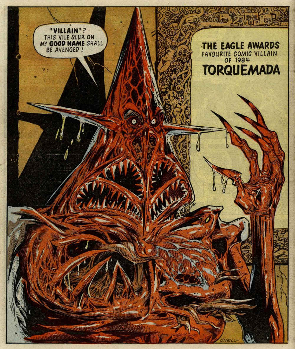 Torquemada, drawn by Kevin O'Neill