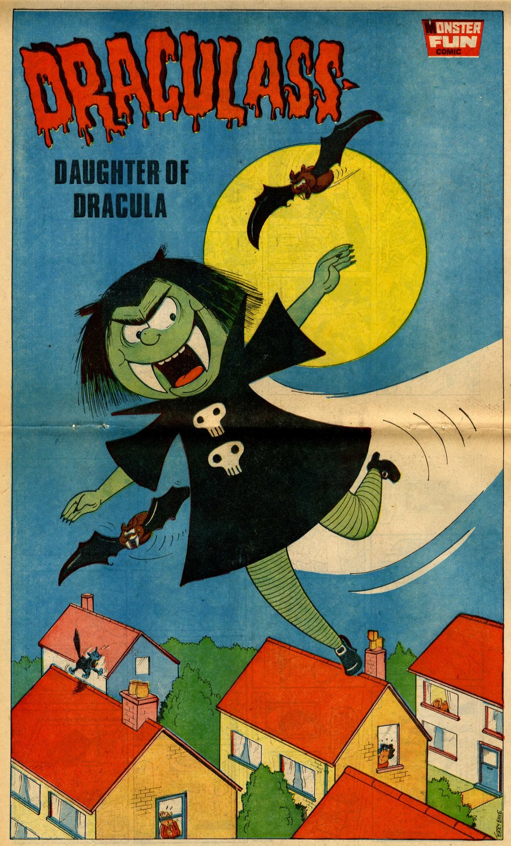 Draculass, drawn by Terry Bave
