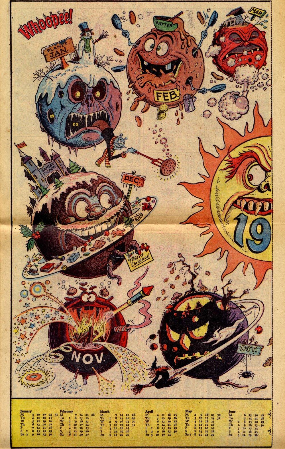 Poster art by Ken Reid