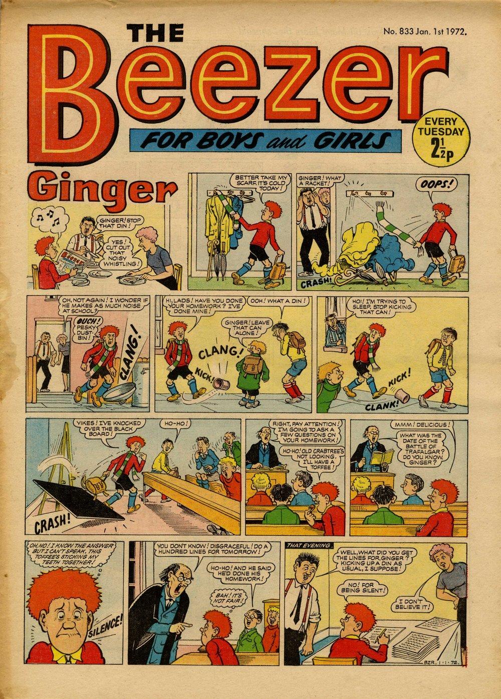 Ginger: Bob McGrath (artist)