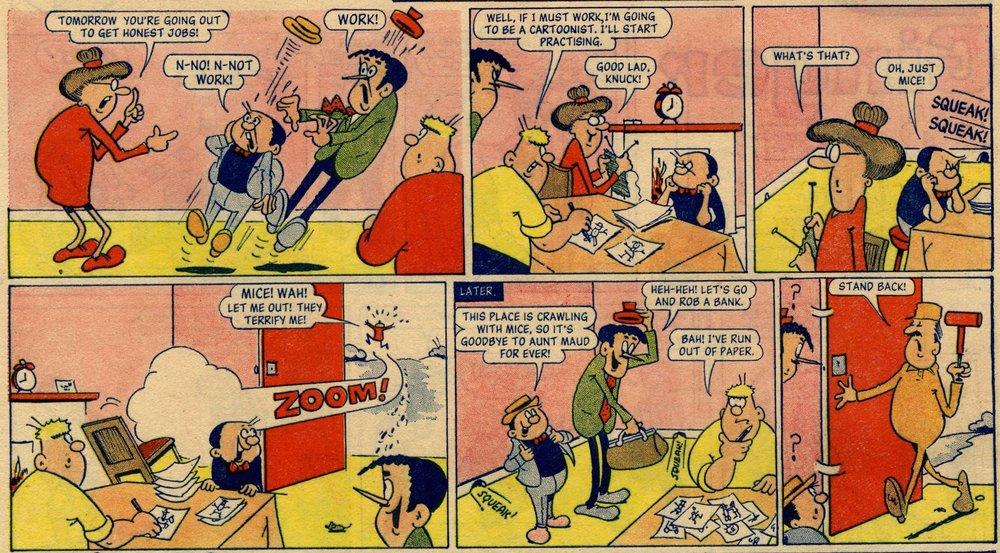 The Badd Lads: Malcolm Judge (artist)
