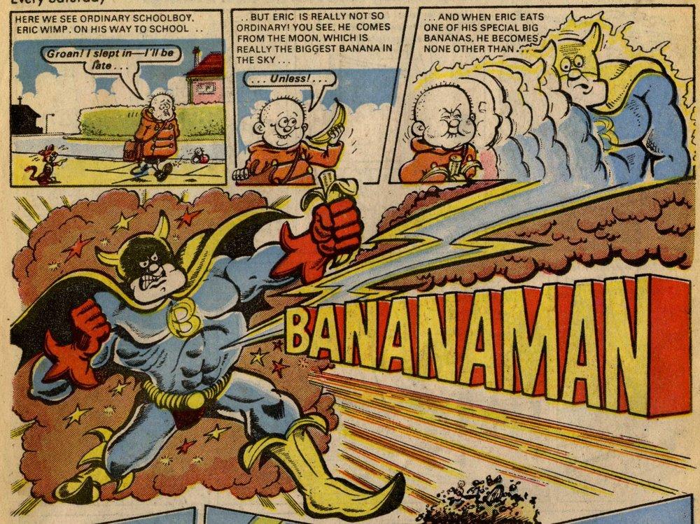 Bananaman: John Geering (artist)