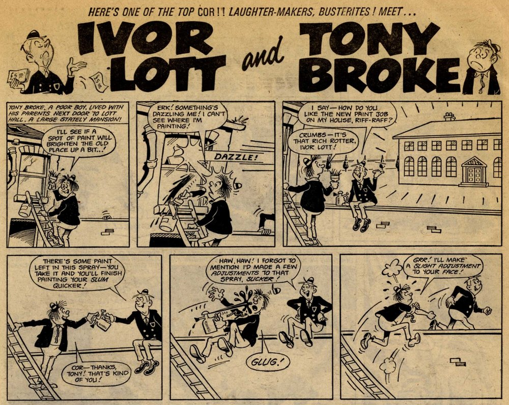 Ivor Lott and Tony Broke: artist unknown