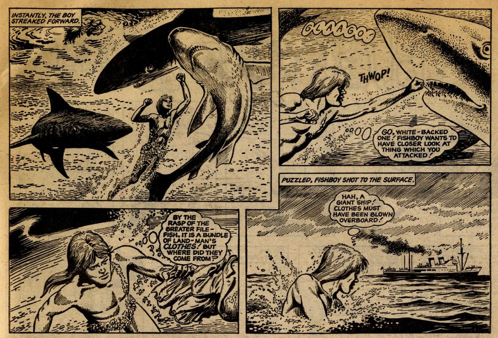 Fishboy: Scott Goodall (writer), John Stokes (artist)