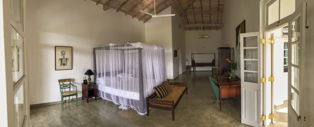 One of the bedrooms at Etamba House.