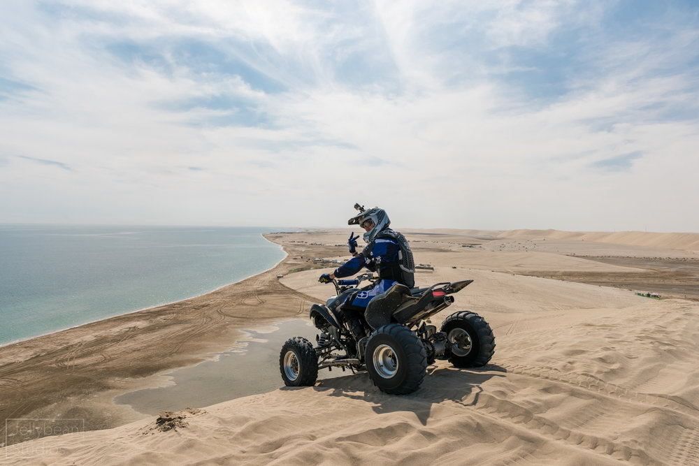 Sand dune with a view